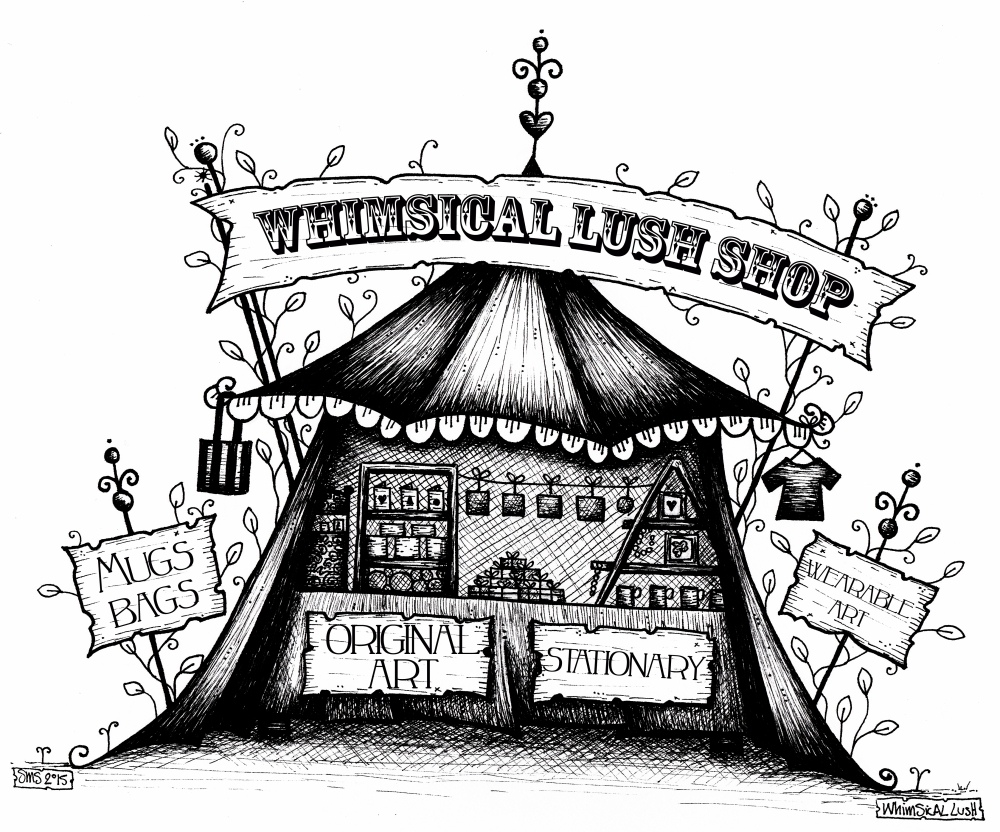 Pop Up Shop Illustration for website
