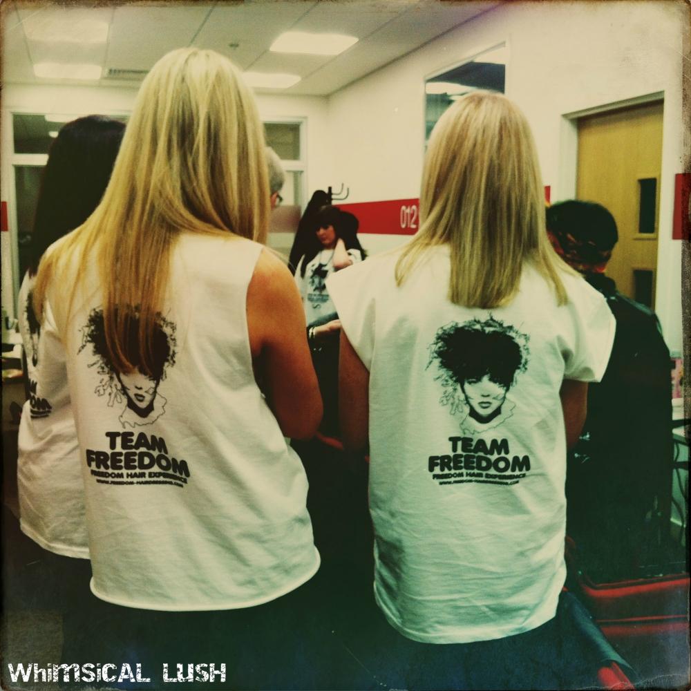 Freedom Team Backstage