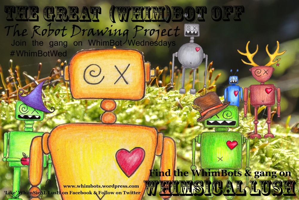 whimbots go for a wander web poster
