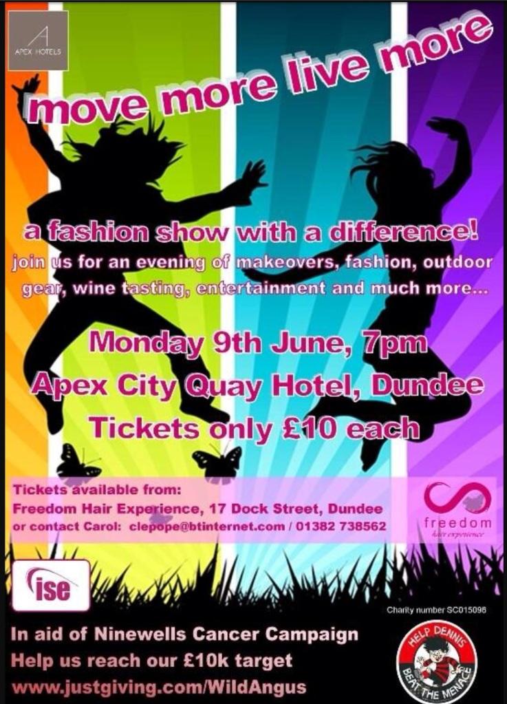 Move More Live More Poster
