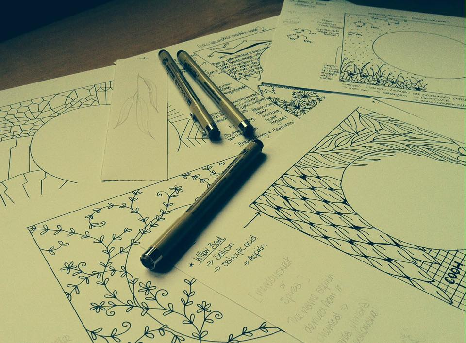 Rough sketches and ideas for potential Discovery Walk Plaques by WhimSicAL LusH