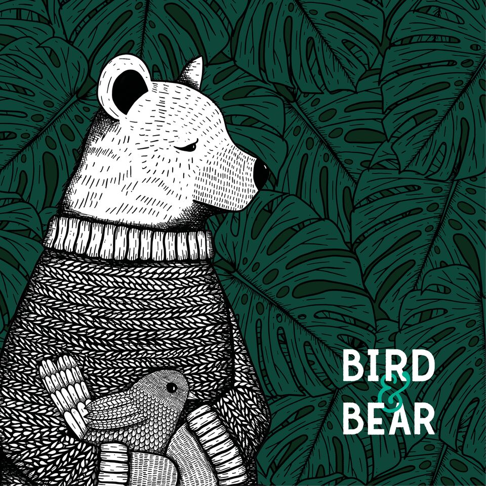 Bird and Bear cheesplant background by WhimSicAL LusH